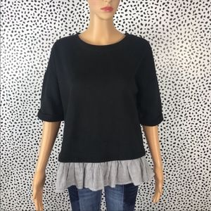 Kensie Nwt blouse size small black